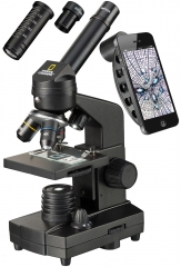 Микроскоп Bresser National Geographic 40–1280x с адаптером для смартфона