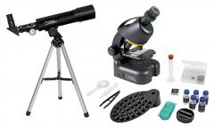 Набор Bresser National Geographic: телескоп 50/360 AZ и микроскоп 40–640x