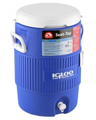 Изотермическая ёмкость Igloo 5 Gallon Seat Top Blue