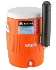 Изотермическая ёмкость Igloo 10 Gallon Seat Top Orange